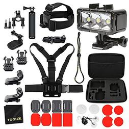 SHOOT 27-in-1 Diving Light Accessories Kit for GoPro Hero 6/