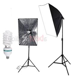 135W Lighting Softbox Photography Photo Equipment Soft Studi