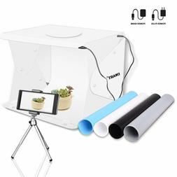 "Emart 14"" x 16"" Photography Table Top Light Box 52 LED Porta"
