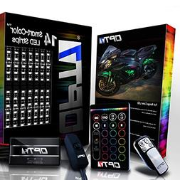 14pc Aura Motorcycle LED Light Kit   Multi-Color Accent Glow