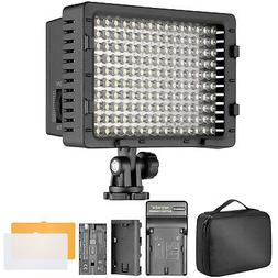 Bestlight 160 Dimmable LED Video Light with 2600 mAh Li-ion