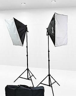 1600 Watt Softbox Lighting Kit Video Lighting Kit Two Softbo