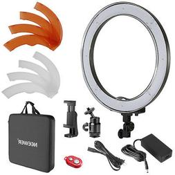 Neewer 18-inch Outer Dimmable SMD LED Ring Light Lighting Ki