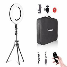 18 inch ring light with stand big