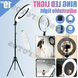 19''LED SMD Ring Light Kit 5500K Dimmable Diva With Stand Co