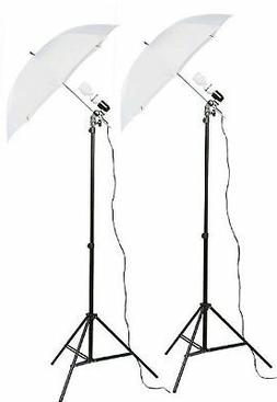 Fancierstudio 2 Light Kit  Umbrella Lighting Kit, Profession