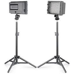 Neewer 2 set Photo Studio CN-216 LED Lighting Kit for Canon