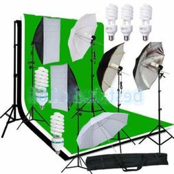 2017 Photo Studio Photography Kit 4 Light Bulb Umbrella Musl