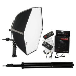 Fotodiox 20in Speedlite Softbox Kit for Canon  with Light St