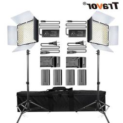 USA 600LED Dimmable Video Light Studio Camera Photography Li