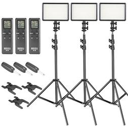 Neewer 308C LED Video Light and Stand Lighting Kit - 380 Pie