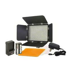 Vidpro LED-330 Studio Video Lighting Kit with Built-in Barn