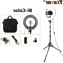 336pcs LED Ring Light Dimmable 5500K Lighting Video Continuo