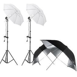 Neewer 400W 5500K Photo Studio Lighting Umbrella Kit with 2