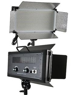 Fancierstudio 500 LED Video Light With Dimmer Switch XLR Pin