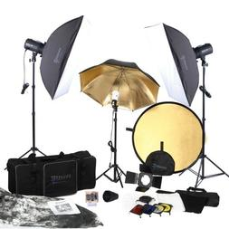 5080 Square Perfect SP3500 Complete Portrait Studio Kit With
