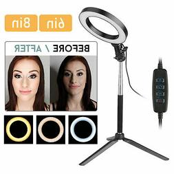 6 8 led smd ring light kit