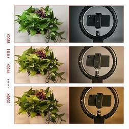 "7"" LED Ring Light Camera Photo 2800-5500K Dimmable LED Ring"