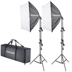 Neewer 700W 5500K Photography Studio Softbox Lighting Kit:
