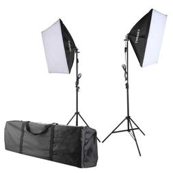 Craphy 700W Photography Continuous Softbox Light Lighting Ki