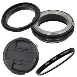 Fotodiox 52mm Macro Reverse Ring Kit with G and DX Type Lens