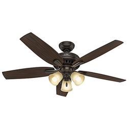 Hunter Fan Company 53317 Newsome Ceiling Fan with Light, 52""