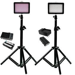 Julius Studio 160 LED, including  160 Dimmable Ultra High Po