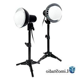 LimoStudio 2 Sets of 18W LED Photography Table Top Photo Stu
