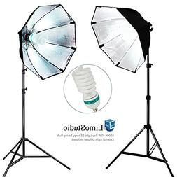 LimoStudio 2 Sets of Photography Video Studio Continuous Sof