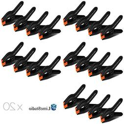LimoStudio 20 PCS Photography Backdrop Support Spring Clamp