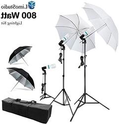 LimoStudio 800W Photography Photo Portrait Studio Umbrella T