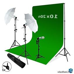 LimoStudio Photography Studio Video Photo ChromaKey Green Sc
