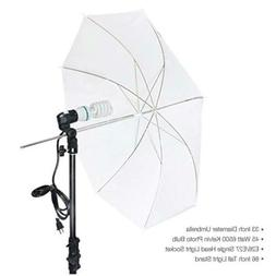 LimoStudio Photography White Photo Umbrella Light Lighting K