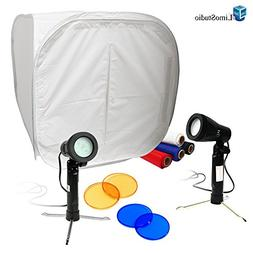 "LimoStudio Table Top Studio 30"" Photo Light Box Tent , 5500K"