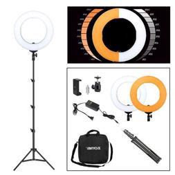 Neewer 14-inch 36W 5500K LED Dimmable Ring Video Light Kit f