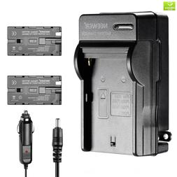 Neewer 2600mAh Li-ion Battery and Charger Kit for Neewer CN-