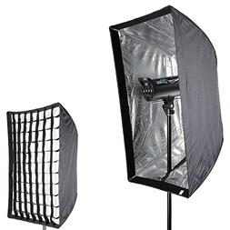 "Neewer Photo Studio 24"" x 36""/60 x 90cm Rectangle Umbrella T"
