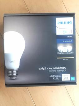 PHILIPS HUE WHITE AMBIANCE SMART BULB STARTER KIT  E26 NIB!!
