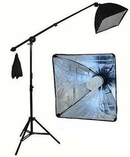 StudioFX 400W Continuous Lighting Hairlight Boom Stand Set,