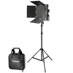 Neewer Bi-color 660 LED Video Light and Stand Kit Includes:
