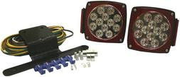 Blazer C5721 Clear Lens LED Submersible Trailer Light Kit fo