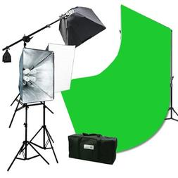 10 x 12 Chromakey Green Screen Background Support Stand 2400