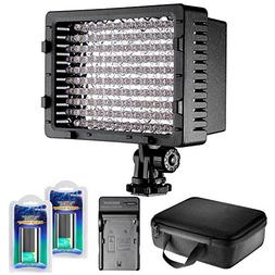 Neewer CN-126 LED Video Light Dimmable Lamp Panel Kit Includ