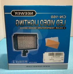 Neewer CN-160 LED Dimmable Ultra High Power Panel Video Ligh