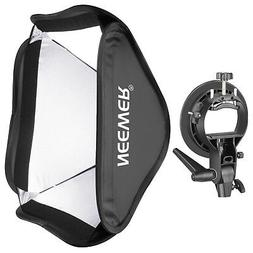 Neewer Collapsible 24x24 inches/60x60 centimeters Softbox wi