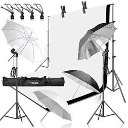 Emart 400W 5500K Daylight Umbrella Continuous Lighting Kit,