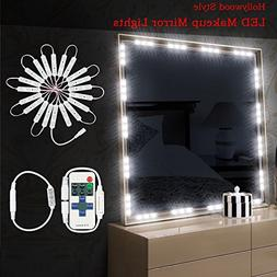 Dimmable Makeup Vanity Mirror Lights, IP65 Dim 60 LEDs 9.8FT