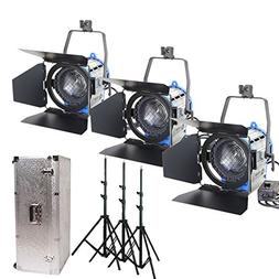 Alumotech Dimmer Built-in Fresnel Tungsten 1000Watt X3+ Air