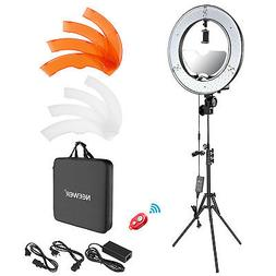Neewer Photgraphy 18-inch Outer LED Ring Light Kit with Ligh