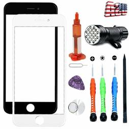 Front Glass Touch Screen Replacement Lens Tools Kit Glue For